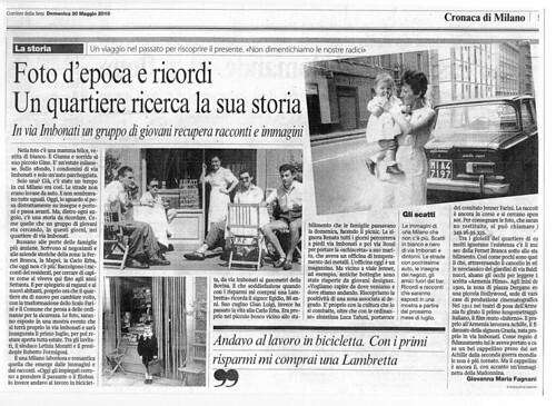 Corriere della Sera 30 5 2010 | by WiKiCitta.it