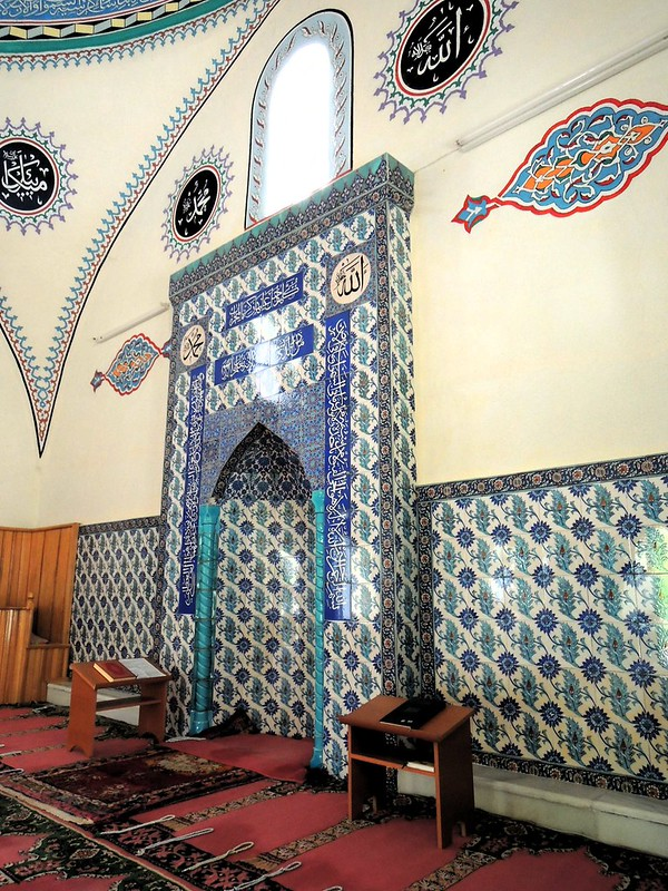 This mosque is old.  It used to be a church during Byzantine times.  It's still in use today.  The imam showed me around the village.  I told him I was an atheist. by bryandkeith on flickr