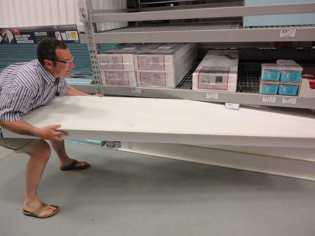 customer buys insulated wall panels at store | Lowes custome