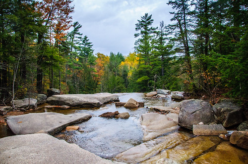 dianasbaths newengland newhampshire autumn fall nikond90 d90 stream waterfall rocks water