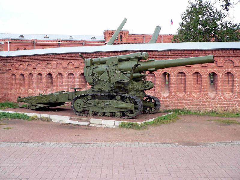 203мм B-4 гаубица (1)