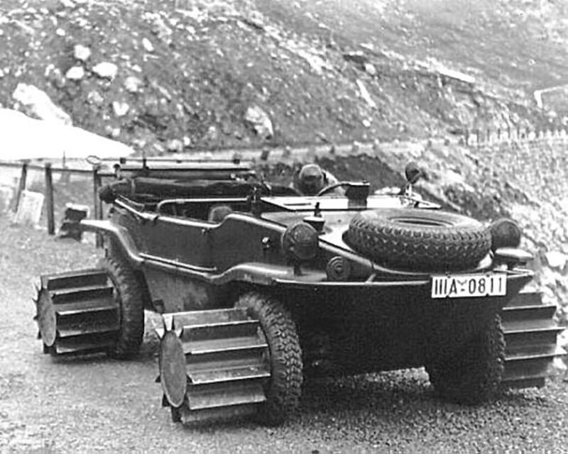 VW Schwimmwagen Type 166/5