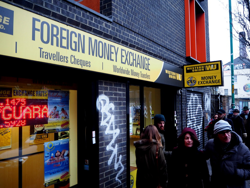 Western Union agent location in Shoreditch (London) | Flickr