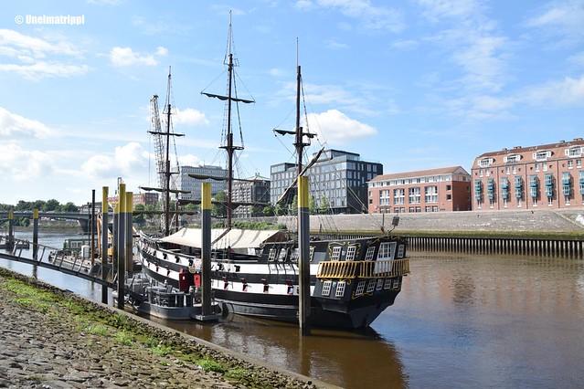 Historiallinen laiva Bremenin Schlachtessa