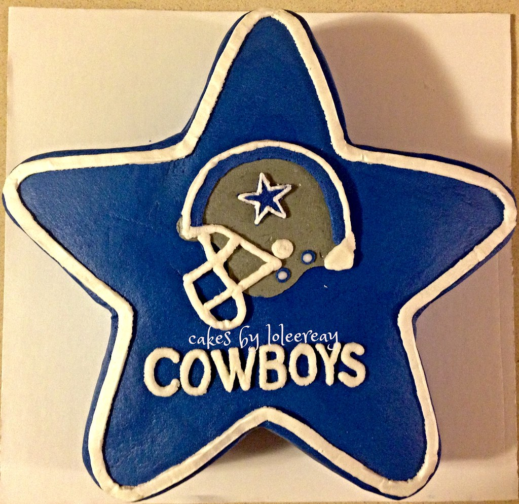 Dallas Cowboys Star Shaped Cake Dallas Cowboys Star