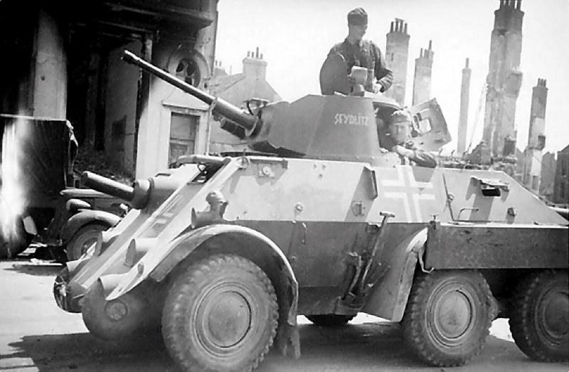 Coche blindado Dutch Pantserwagen M39