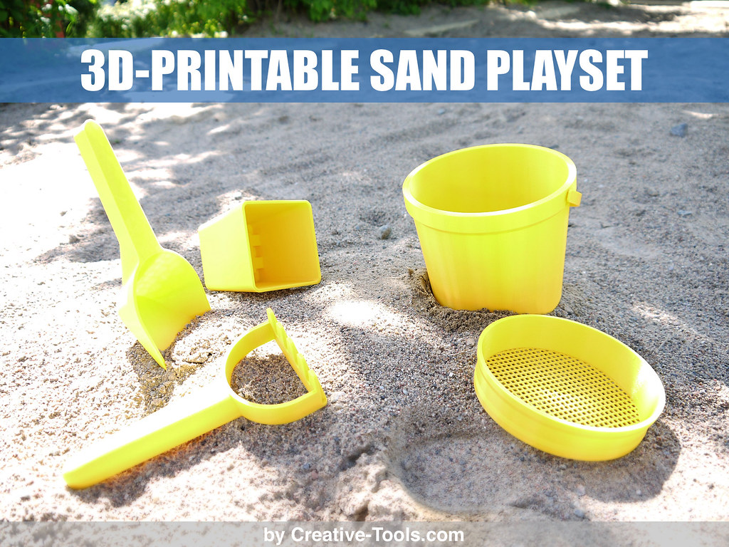 graphic about 3d Printable Tools titled 3D-printable sand perform preset - by means of v1 Flickr