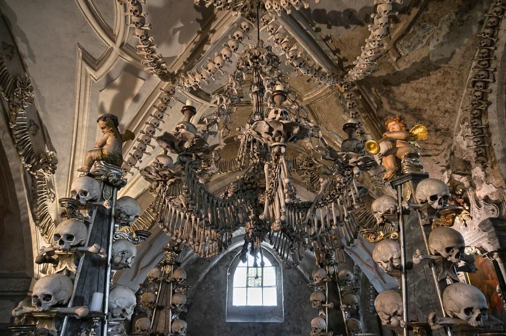 Sedlec ossuary kostnice Kutna Hora Czech Republic