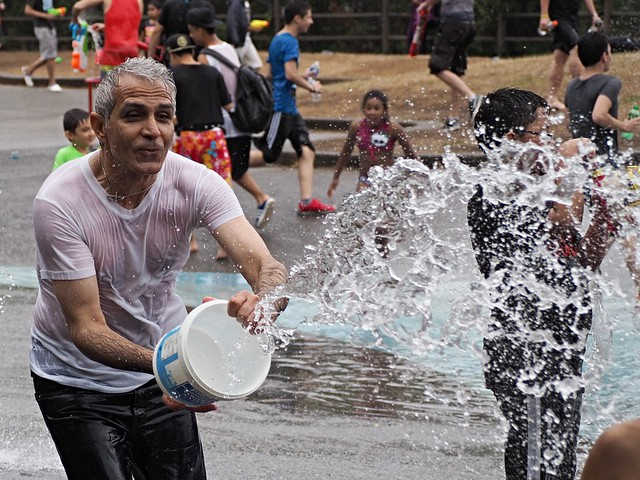Vancouver Water Fight 2015