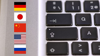 Keyboard and flag icons | by Ervins Strauhmanis