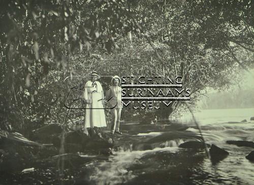 Echtpaar Calkoen bij sula   by Stichting Surinaams Museum