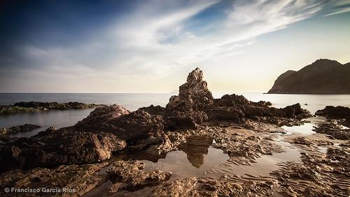 sea costa naturaleza nature marina landscape coast mar rocks cove paisaje murcia lorca cala rocas mediterráneo waterscape costacálida smallbay recesvintus caladelsiscal