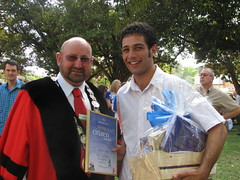 2007 0126 Australia Day - Raffaele Piccolo Junior Citizen of the Year (4)