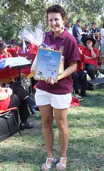2009 0126 Australia Day Young Citizen Elizabeth Hatcher  (5)
