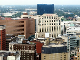 Indianapolis continues to grow with large hotels. | by kennethkonica