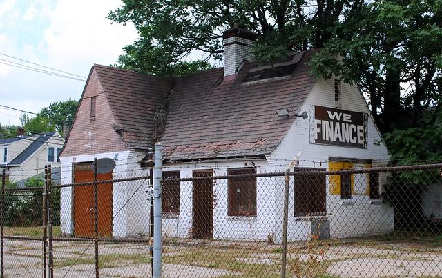 Former Standard Oil Gas Station