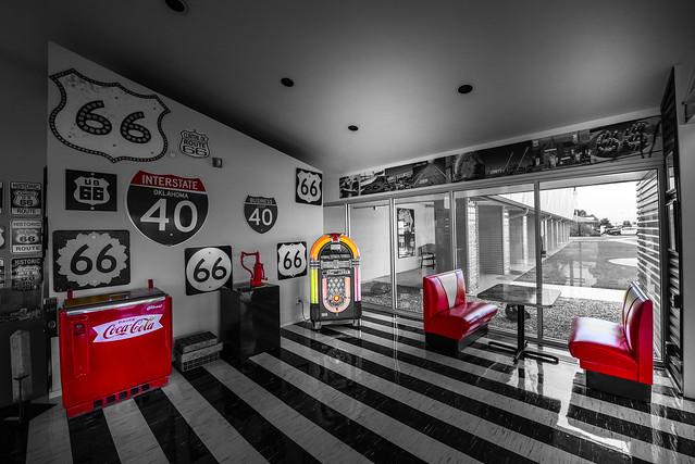 Oklahoma Route 66 Museum - Clinton - Oklahoma - USA