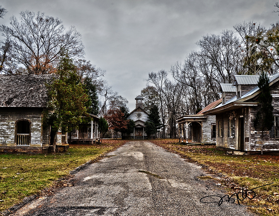 Abandoned Town Spectre From The Movie Big Fish The Remains Flickr