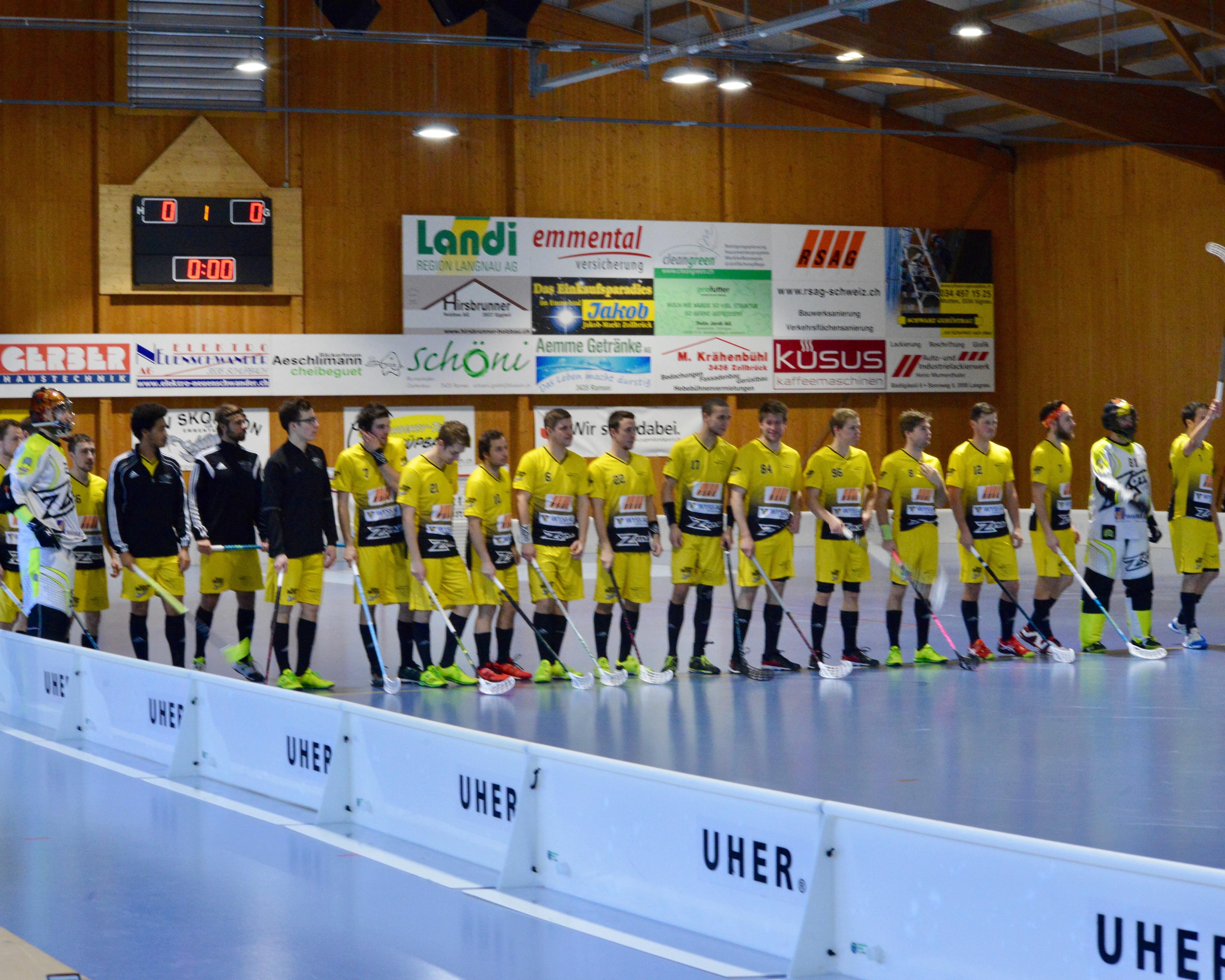 Herren I - UHC Eschenbach Saison 2016/17