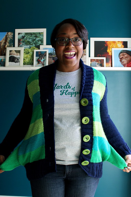 Four color Fable cardigan