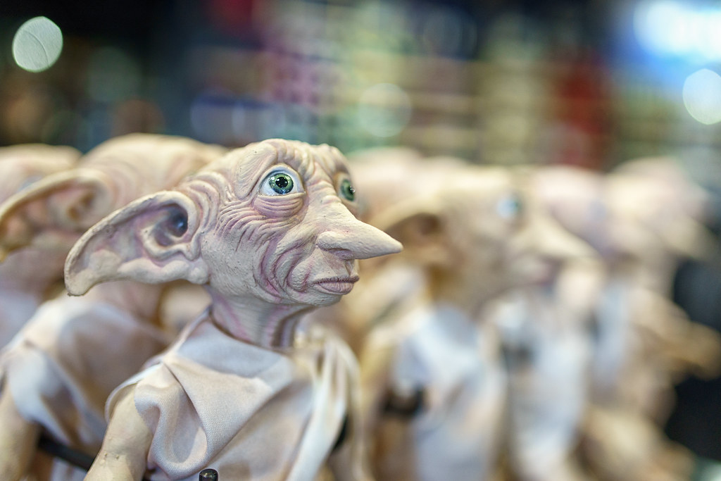 Dobby Is A Free Elf Dobby Doll At The Universal Studio Gif Mike Sperduto Flickr
