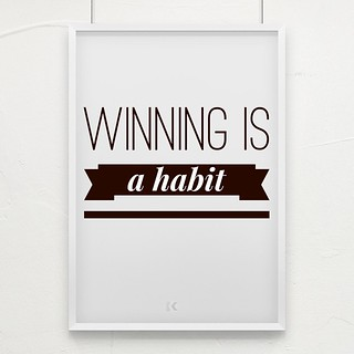 Winning is a habit. #motivation #inspiration #hustle | by koka_sexton