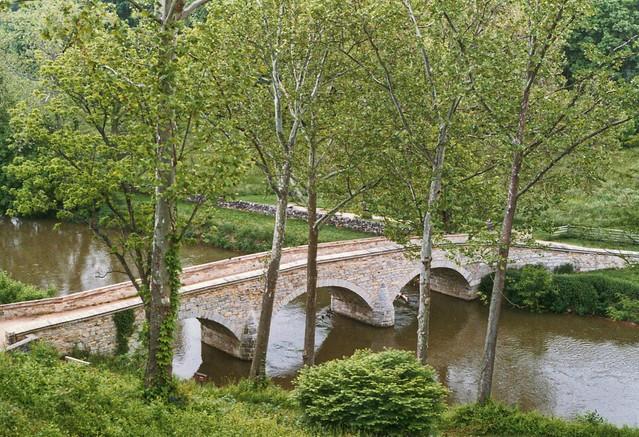 Burnside Bridge ~ Sharpsburg Maryland ~ American Civil War History ~ My Photo 1980 ca