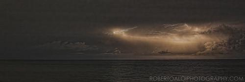 Lake Worth Beach Night Lightning 7-30-15 | by Roberto_Aloi