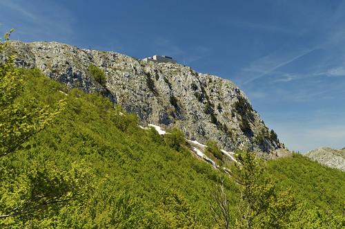 sky mountain nature landscape nationalpark hill bluesky mount mausoleum montenegro crnagora lovćen cetinje njegoš petrović mountlovćen petariipetrovićnjegoš petariipetrovićnjegošmauseleum