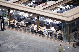 View From The Caffe La Terrazza La Rinascente Firenze Flickr