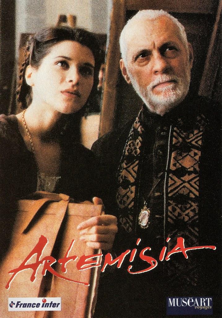 Michel Serrault and Valentina Cervi in Artemisia (1997 ...