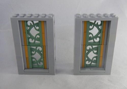 Art nouveau window idea