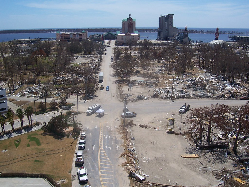 Post Hurricane Katrina Mississippi