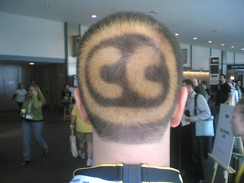 The back of this man's head has a Creative Commons license | by allaboutgeorge