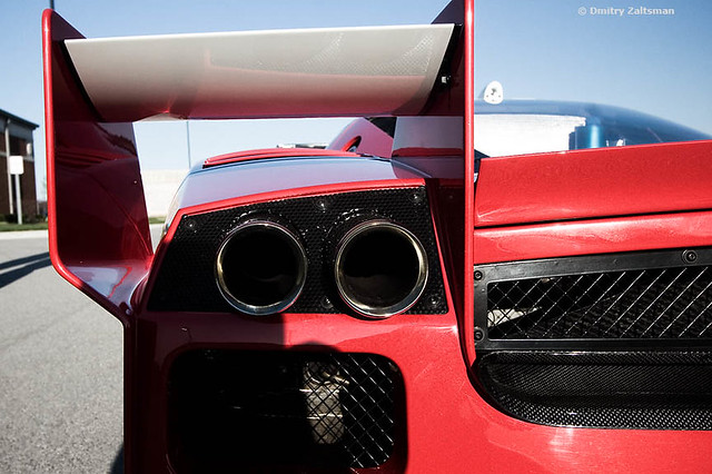 Ferrari FXX exhaust | This is the ultra rare ferrari enzo fx