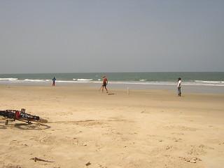 Cricket game at Benaulim beach | by rivo