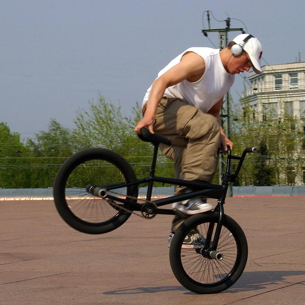 BMX bei der Kunsthalle