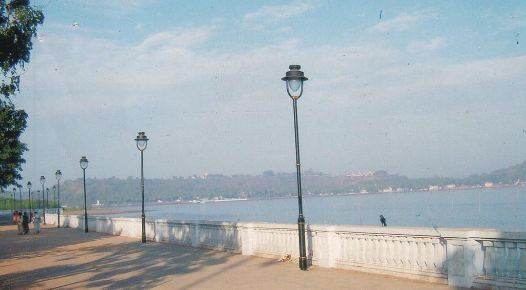 Panjim riverfront