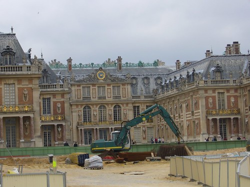 The Royal Courtyard undergoing restoration | by claytron