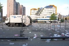 post-market cleanup, Binnenrotteplein