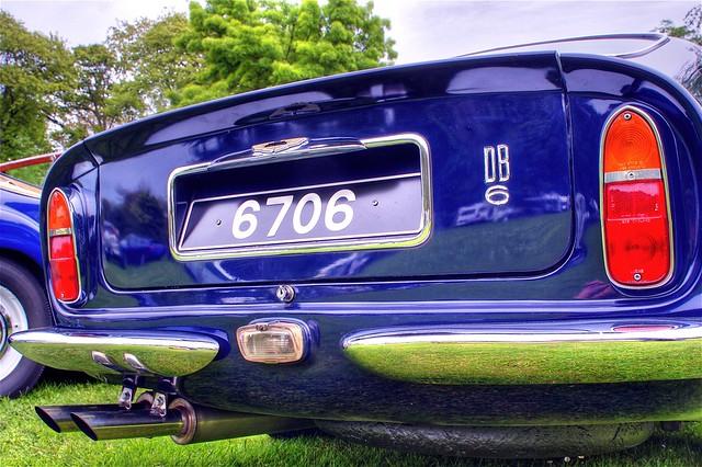 Db6 Rear