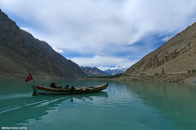 Atabad Lake near Shiskat