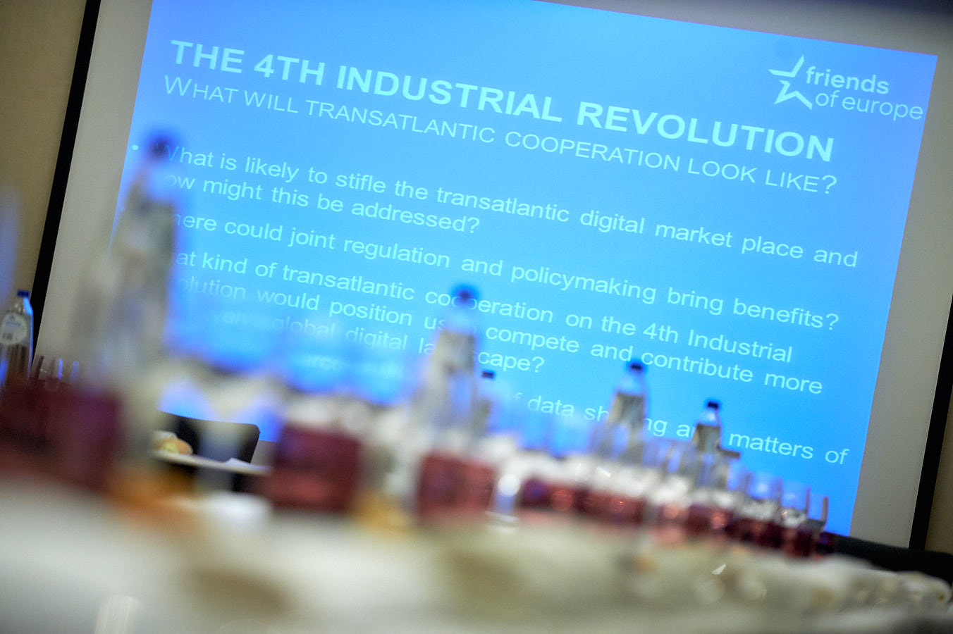 The 4th industrial revolution working group