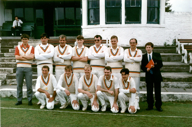 Steeton 1st XI 1993 Keighley Cup