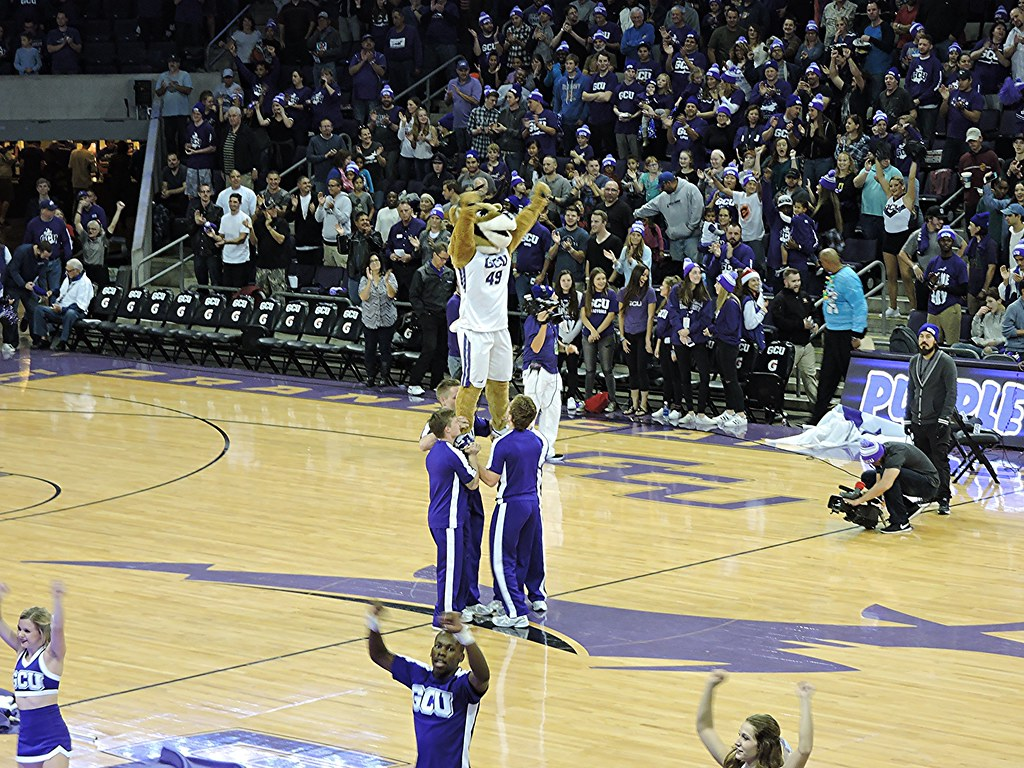 Gcu Mascot Thunder At The Grand Canyon University Arena