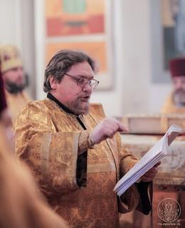 Литургия в Покровском соборе 149