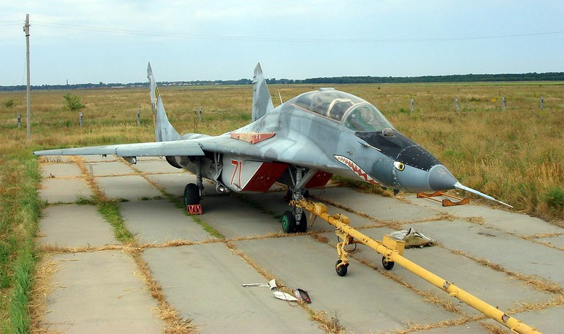 МиГ-29УБ Фулкрум 3