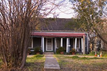 Historic house, Austin, Texas   by East End Cultural District