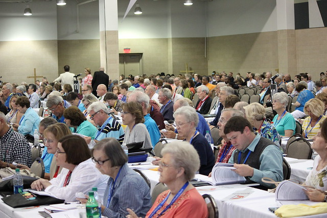 On the floor of NCCAC15