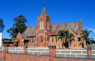 August 2004 - St Patricks Catholic Church, 55 New England Highway, Lochinvar, New South Wales, Australia